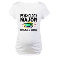 Psychology Major Powered By Coffee Shirt