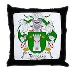 Torresao Family Crest Throw Pillow