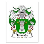 Torresao Family Crest Small Poster