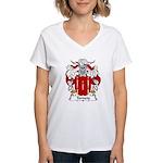 Torneio Family Crest Women's V-Neck T-Shirt