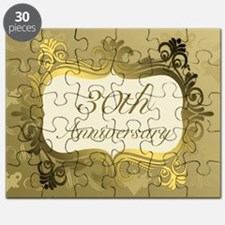 Fancy 30th Wedding Anniversary Puzzle