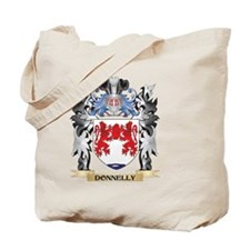 Donnelly Coat of Arms - Family Crest Tote Bag