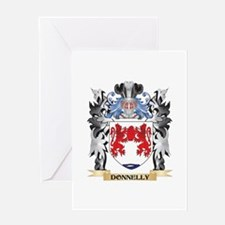 Donnelly Coat of Arms - Family Cres Greeting Cards