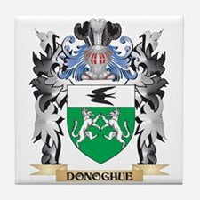 Donoghue Coat of Arms - Family Crest Tile Coaster