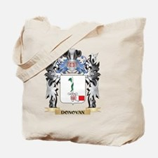 Donovan Coat of Arms - Family Crest Tote Bag