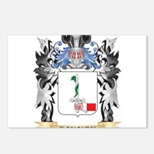 Donovan Coat of Arms - Fa Postcards (Package of 8)