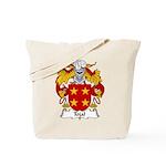 Tojal Family Crest Tote Bag