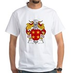 Tojal Family Crest White T-Shirt