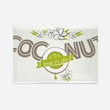 Lime in the Coconut II Magnets