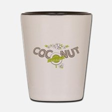 Lime in the Coconut II Shot Glass