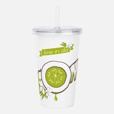 Lime in Da Coconut Acrylic Double-wall Tumbler