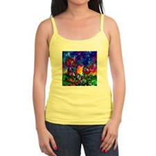 Monarchs At Sunset Tank Top