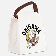 Okinawa Koi Canvas Lunch Bag