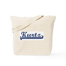 Kurtz (sport-blue) Tote Bag