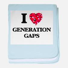 I love Generation Gaps baby blanket