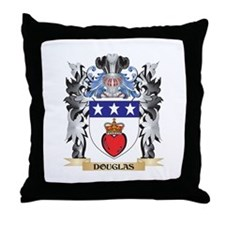 Douglas Coat of Arms - Family Crest Throw Pillow