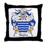 Tavora Family Crest Throw Pillow