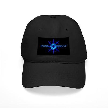 Ripple Effect Black Cap