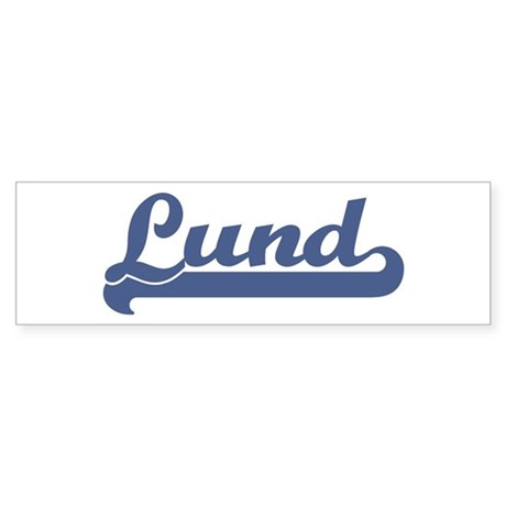 Lund (sport-blue) Bumper Sticker