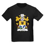 Taques Family Crest Kids Dark T-Shirt