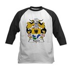 Taques Family Crest Kids Baseball Jersey