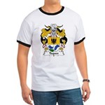 Taques Family Crest Ringer T