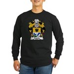 Taques Family Crest Long Sleeve Dark T-Shirt