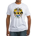 Taques Family Crest Fitted T-Shirt