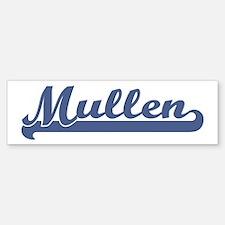 Mullen (sport-blue) Bumper Bumper Bumper Sticker