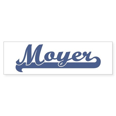 Moyer (sport-blue) Bumper Sticker
