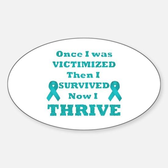 Awareness Sticker (Oval)