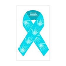 Sexual Assault Ribbon Decal