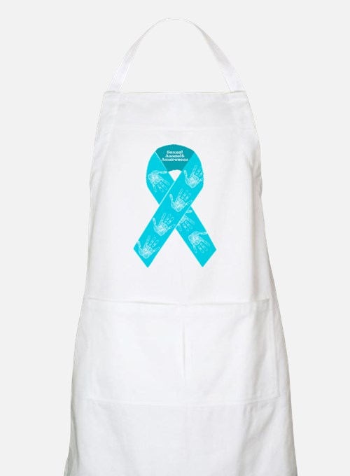 Sexual Assault Ribbon Apron