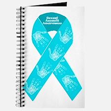 Sexual Assault Ribbon Journal