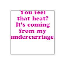 "Cute Bridesmaids Square Sticker 3"" x 3"""