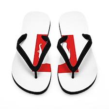 Red Elephant Flip Flops