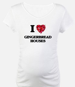 I love Gingerbread Houses Shirt
