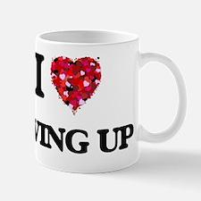 I love Giving Up Mug