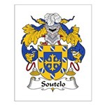 Soutelo Family Crest Small Poster