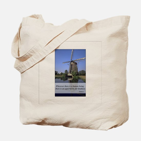 Windmill - Human Kindness Tote Bag