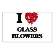 I love Glass Blowers Decal