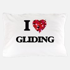 I love Gliding Pillow Case