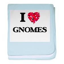 I love Gnomes baby blanket