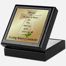 In Loving Memory of Grandmother Keepsake Box