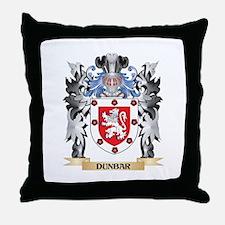 Dunbar Coat of Arms - Family Crest Throw Pillow