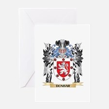 Dunbar Coat of Arms - Family Crest Greeting Cards