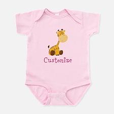 Custom Baby Giraffe Onesie