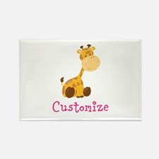 Custom Baby Giraffe Rectangle Magnet (10 pack)
