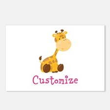 Custom Baby Giraffe Postcards (Package of 8)