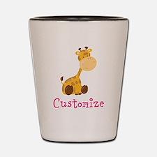 Custom Baby Giraffe Shot Glass
